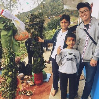 ネパールで教育 森本聡